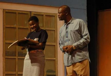 Comedy at Kampala's National Theatre, Uganda, is, unsurprisngly, quite theatrica